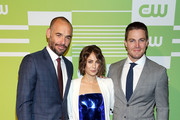Willa Holland and Stephen Amell Photos Photo