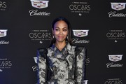 Zoe Saldana attends Cadillac Celebrates the 92nd Annual Academy Awards at Chateau Marmont on February 06, 2020 in Los Angeles, California.