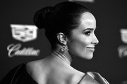 (Editor's Note: Image digitally converted to black and white.) Abigail Spencer attends Cadillac Celebrates The 92nd Annual Academy Awards at Chateau Marmont on February 06, 2020 in Los Angeles, California.