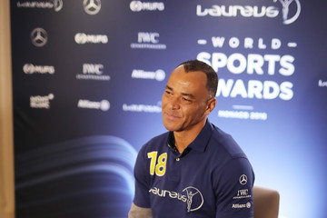 Cafu Media Interviews - 2018 Laureus World Sports Awards - Monaco