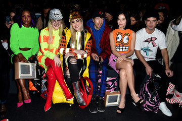 Caillie Beckerman Jeremy Scott - Front Row - Fall 2016 New York Fashion Week: The Shows