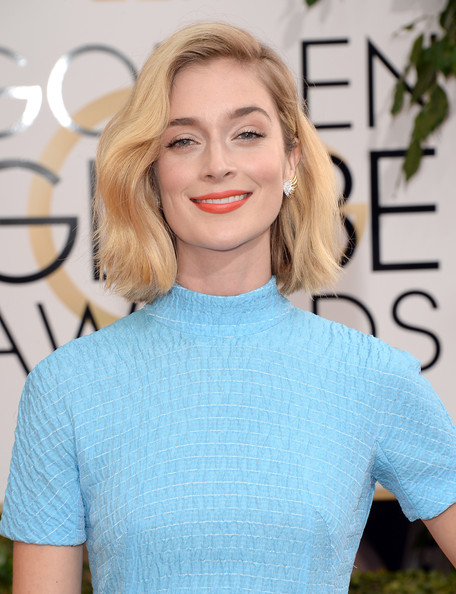 Caitlin Fitzgerald - 71st Annual Golden Globe Awards - Arrivals