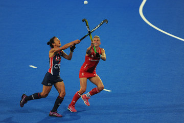 Caitlin Van Sickle USA vs. England - FIH Womens Hockey World Cup