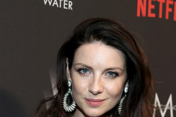 Caitriona Balfe The Weinstein Company and Netflix Golden Globes Party Presented With FIJI Water