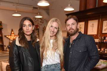 Caleb Followill Lily Aldridge And Levi's Made And Crafted Celebrate Denim In Nashville