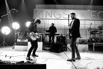 Caleb Followill Kings Of Leon On AT&T At iHeartRadio Theater LA
