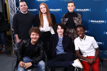Caleb McLaughlin SiriusXM's 'Town Hall' With the Cast of 'Stranger Things' Town Hall to Air on SiriusXM's Entertainment Weekly Radio