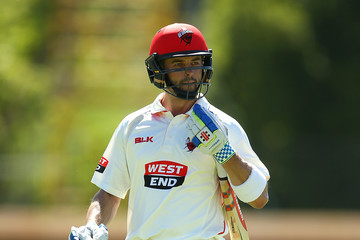 Callum Ferguson WA v SA - Sheffield Shield: Day 2