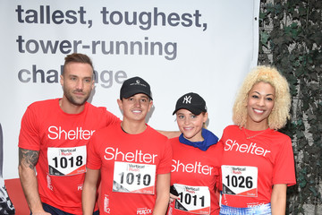 Calum Best Celebrities Take Part In The Shelter: Vertical Rush