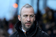 Shaun Derry, Manager of Cambridge United looks on before the Sky Bet League Two match between Cambridge United and AFC Wimbledon at Abbey Stadium on January 2, 2016 in Cambridge, Cambridgeshire.