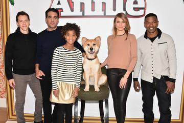 Cameron Diaz Quvenzhane Wallis 'Annie' Photo Call in NYC