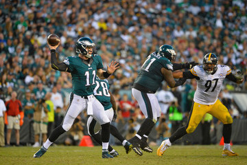 Cameron Heyward Pittsburgh Steelers v Philadelphia Eagles