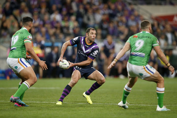 Cameron Smith NRL Qualifying Final - Storm vs Raiders