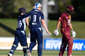 Cameron White QLD vs. VIC - JLT One Day Cup