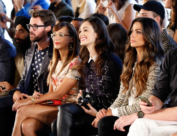 Camila Alves - MBFW: Front Row at Tory Burch