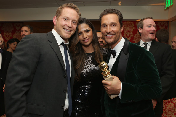 HBO's Golden Globes Afterparty [event,suit,formal wear,matthew mcconaughey,camila alves mcconaughey,golden globe awards,california,los angeles,circa 55 restaurant,hbo,party]