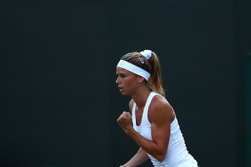 Camila Giorgi Day Three: The Championships - Wimbledon 2017