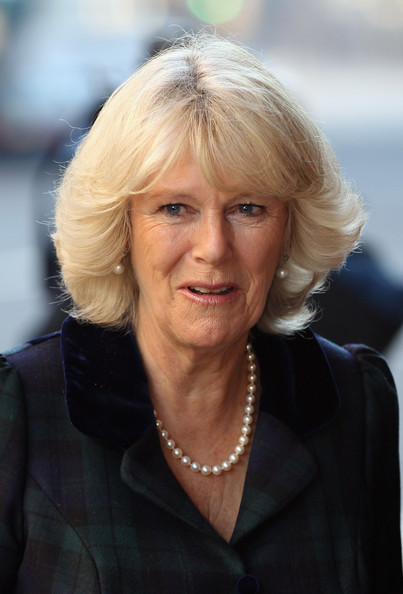 Camilla Parker Bowles Duchess Of Cornwall Arrives At The
