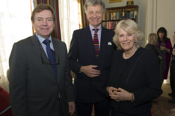 William Shawcross Camilla, Duchess of Cornwall Hosts A Reception To Promote Literacy and Reading