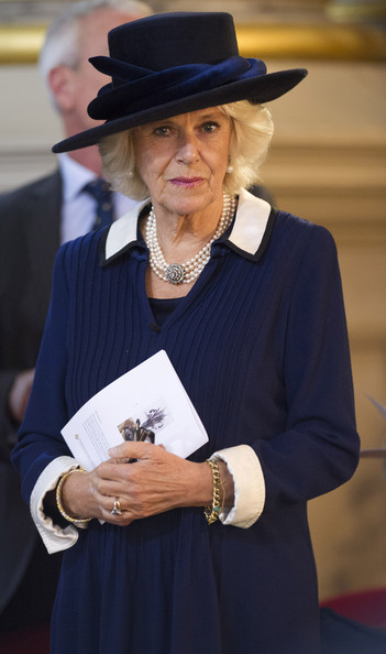 Camilla, Duchess of Cornwall attends the National Harvest Service at Birmingham Cathedral on October 20, 2014 in Birmingham, England.
