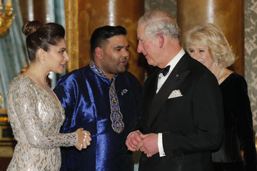 Camilla Parker Bowles The Prince of Wales and Duchess of Cornwall Celebrate the 10th Anniversary of the British Asian Trust