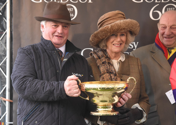 The Duchess of Cornwall Attends the 60th Hennessy Gold Cup
