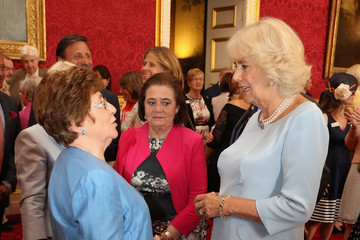 Camilla Parker Bowles Duchess Of Cornwall Hosts 30th Anniversary Garden Party For The National Osteoporosis Society