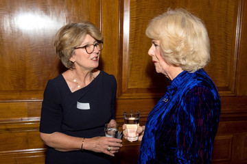 Camilla Parker Bowles The Duchess of Cornwall Attends The 'Women in Journalism' Reception
