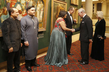 Camilla Parker Bowles The Prince of Wales and Duchess of Cornwall Support the British Asian Trust