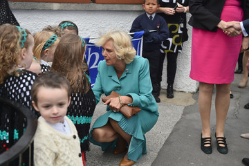 Camilla Parker Bowles Prince of Wales and the Duchess of Cornwall's Irish Trip Day One