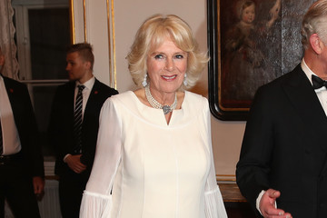 Camilla Parker Bowles The Prince Of Wales And Duchess Of Cornwall Visit Austria - Day 1