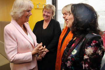 Camilla Parker Bowles Camilla, Duchess of Cornwall Visits ITV Studios To Mark Their 60th Anniversary