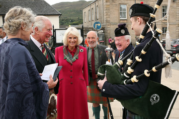 Camilla Parker Bowles The Duke And Duchess Of Rothesay Visit The Isle Of Skye