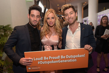 Camille Grammer Family Equality Council's 2015 Los Angeles Awards Dinner - Red Carpet