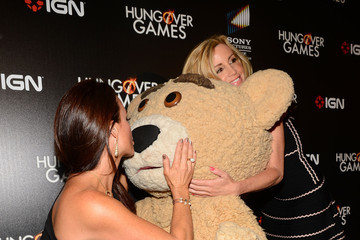 """Camille Grammer Kyle Richards Premiere Of Sony Pictures Home Entertainment's """"The Hungover Games"""" - Red Carpet"""
