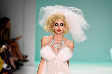 Camille Grammer Mercedes-Benz Fashion Week Spring 2015 - Official Coverage - Best Of Runway Day 7