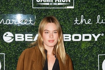 Camille Rowe 2017 GO Campaign Gala - Arrivals