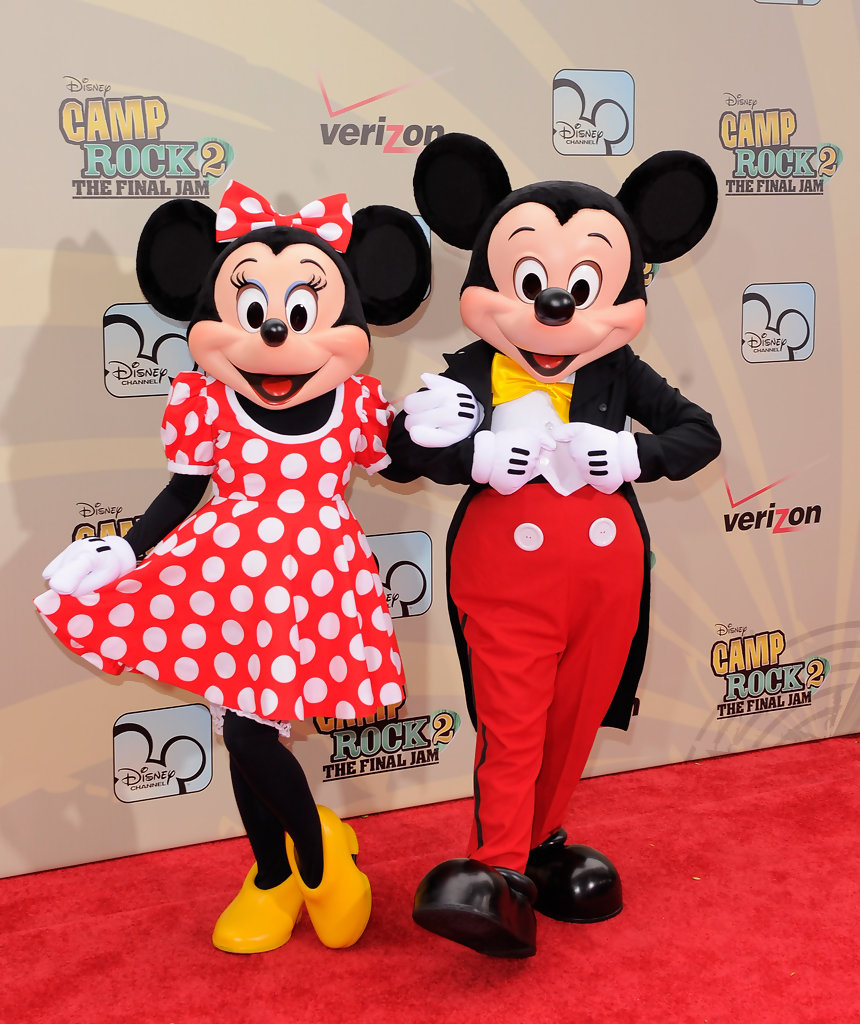 Mickey mouse and minnie mouse photos photos camp rock 2 the final jam new york premiere - Minni et mickey ...
