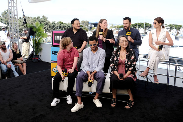 #IMDboat At San Diego Comic-Con 2019: Day Two [social group,event,community,team,tourism,adrian martinez,tantoo cardinal,jake johnson,cobie smulders,camryn manheim,michael ealy,cole sibus,imdboat,imdb yacht,san diego comic-con]