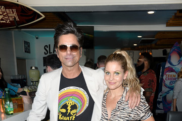Candace Cameron Bure Cold Stone Creamery Backstage At 2019 Teen Choice Awards