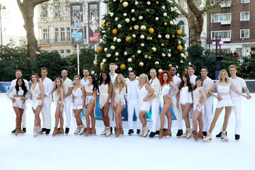 Candice Brown Dancing on Ice Photocall