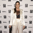 "Candice Huffine ""The Bloomberg 50"" Celebration In New York City - Arrivals"