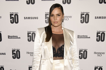 """Candice Huffine """"The Bloomberg 50"""" Celebration In New York City - Arrivals"""