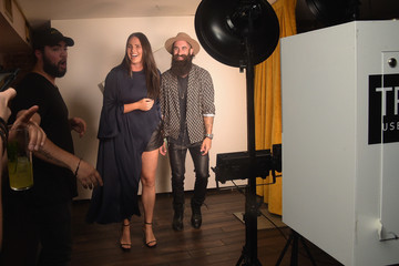 Candice Huffine E!, ELLE & IMG Host NYFW Kickoff Party, a Celebration of Personal Style - Sponsored by TRESEMME - Inside