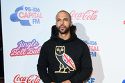 Marvin Humes attends the Capital FM Jingle Bell Ball at The O2 Arena on December 08, 2018 in London, England.