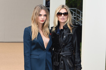 Cara Delevingne Arrivals at Burberry Womenswear