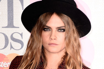 Cara Delevingne Arrivals at the BRIT Awards