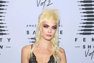 Cara Delevingne Rihanna's Savage X Fenty Show Vol. 2 presented by Amazon Prime Vide – Step and Repeat
