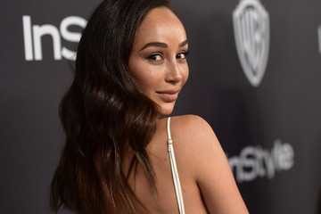 Cara Santana The 2019 InStyle And Warner Bros. 76th Annual Golden Globe Awards Post-Party - Red Carpet