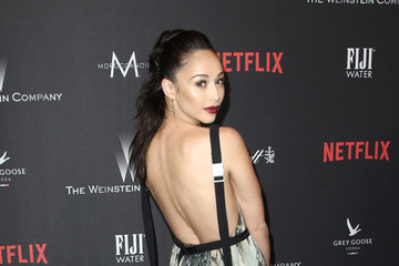 Cara Santana The Weinstein Company and Netflix Golden Globe Party, Presented With FIJI Water, Grey Goose Vodka, Lindt Chocolate, and Moroccanoil - Red Carpet